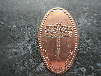 Drumheller Royal Tyrrell Museum Dragonfly Elongated Penny