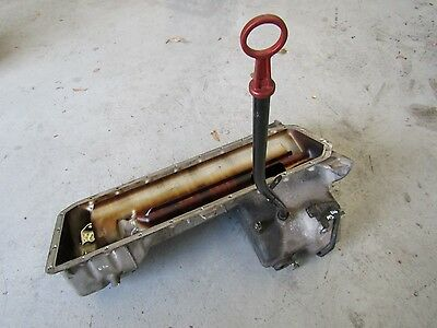 BMW E36 M3 Oil Pan Sump and Dip Stick from S50B32 Engine
