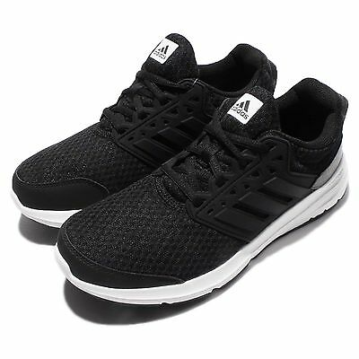 adidas Galaxy 3 W Black White Women Running Shoes Sneakers Trainers AQ6555