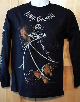 AVENGED SEVENFOLD T-Shirt   Long Sleeve  Official/Licensed  Size: Small  NEW