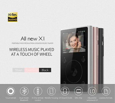 FiiO X1 (2nd Gen) Portable High Resolution Digital Music Player