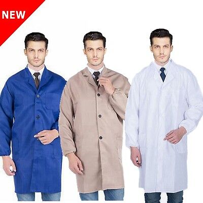 Lab Laboratory Food Hygiene Industry Warehouse Doctors Medical Coat School New