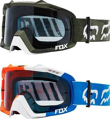 2017 Fox Racing Air Defence Creo Goggles - MX ATV Motocross Off-Road Dirt Bike