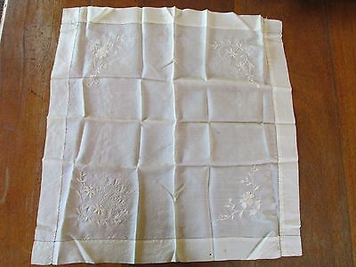 Antique Silk Handkerchief Auckland Exhibition 1898 Souvenier ? Souvenir
