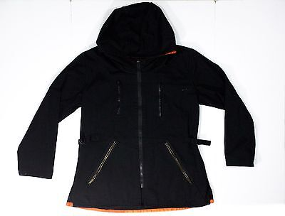 The Hunger Games Arena Jacket Size XL Halloween Costume  Black and Orange