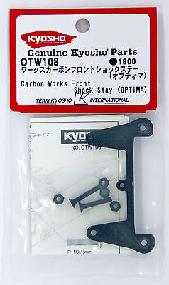 Kyosho OTW108 Works Carbon Front Shock Stay (OPTIMA)