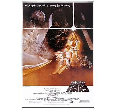 "Star Wars Poster ""movie Cover"" Far Far Away ""licensed"" Brand New ""vader, Anakin"""