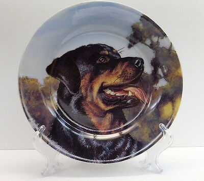 Rottweiler Collector Plate, From Living Stone, Sku 785275712116