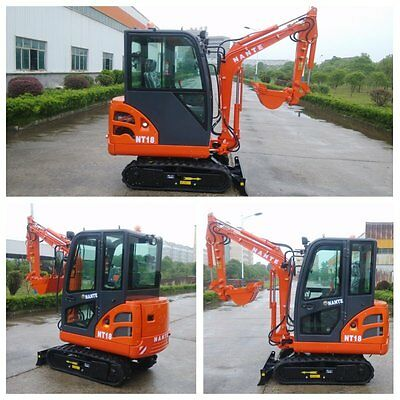 2016 Brand New excavator 1.8 tonne (with full cabin)