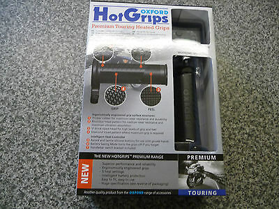 Oxford Hotgrips Premium Touring Motorcycle Heated Grips OF691
