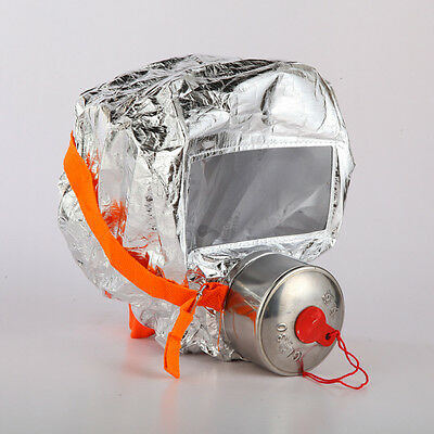Emergency Filtering Type Self Rescuing Respirator Smoke Prevention Mask
