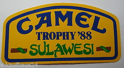 Aufkleber CAMEL TROPHY 1988 SULAWESI Land Rover 90 110 Sticker Autocollant