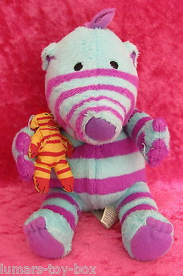 """Fimbles  FLORRIE WITH TEDDY BEAR 7"""" 18cm Soft Plush Toy 2002 Fisher Price Mattel"""