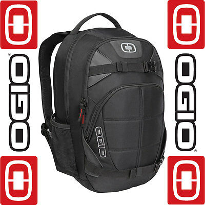Ogio Rebel Black Laptop Camera Motorcycle Motorbike Rucksack Backpack Bag