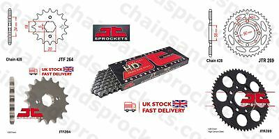 JT- Chain Sprocket Kit 15t 39t 428HDR 126 fits Kymco 125 Pulsar 01-05