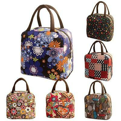 Waterproof Travel Thermal Insulated Cooler Bag Lunch Box Picnic Carry Tote Pouch