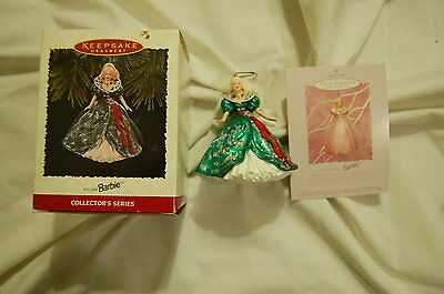 Hallmark Collector's Series Holiday Barbie Ornament 1995