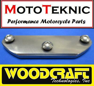 Woodcraft Left Generator Cover Replacement Skid Pad Yamaha YZF1000 R1 04-08