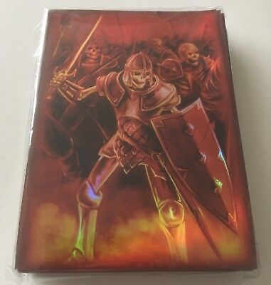 Max Protection Neo Trading Card Sleeves 50 Pack Grim Reaper - Large Pokemon MTG