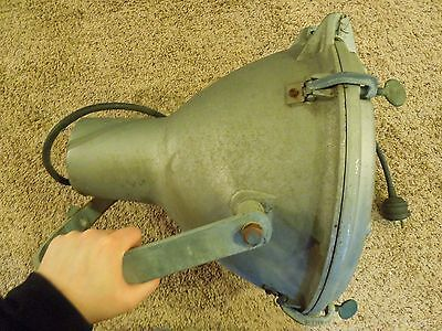 Industrial Age Crouse-Hinds Large Spotlight Ceiling Stage Factory Light MVE-14