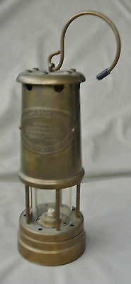 Reproduction Coal Mining Colliery Miner's Lamp