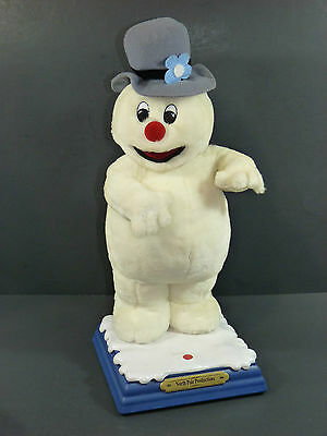 Vintage 1999 Frosty the Snowman Animated Singing Plush Doll by Gemmy Industries