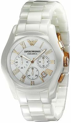 Emporio Armani® watch AR1416 Mens White Ceramica