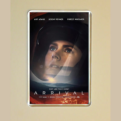 Arrival - Amy Adams - Jeremy Renner - Forest Whitaker - Photo Fridge Magnet #4