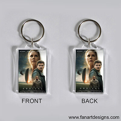 Arrival - Amy Adams - Jeremy Renner - Forest Whitaker - Photo Keychain #1