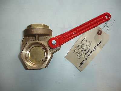 "NEW Matco Norca 730-0200 2"" Brass Lever Quick Opening Gate Valve"