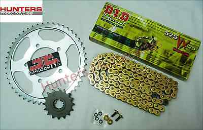 BMW S1000RR 2012 to 2015 Models DID Gold X-Ring Chain & JT Sprocket Kit Set