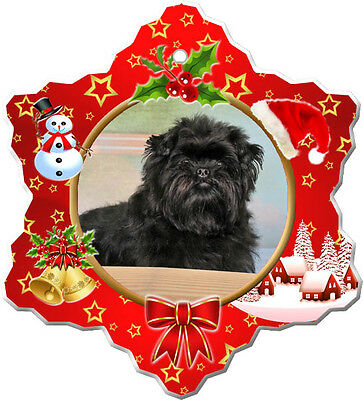 Affenpinscher Christmas Holiday Ornament