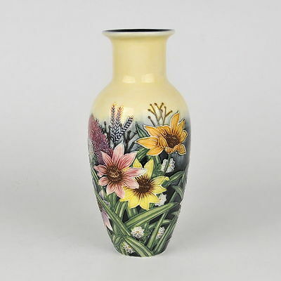 """Old Tupton Ware """"SUMMER BOUQUET"""" Hand Painted Tube Lined VASE (8"""") TW 1131"""