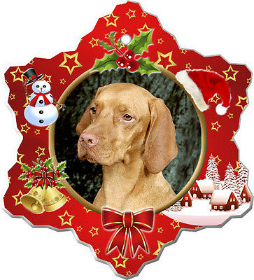 Vizsla Christmas Holiday Ornament