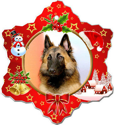 Belgian Tervuren Christmas Holiday Ornament