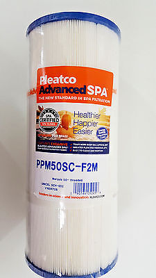 New Pleatco Advanced Spa Filter PPM50SC-F2M Spa Certified