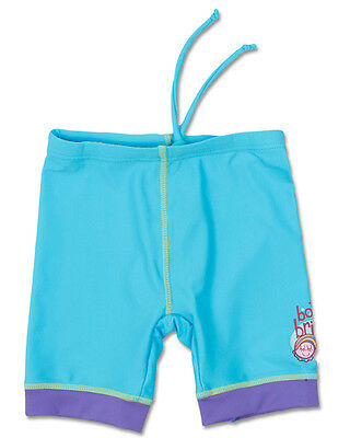 Birght Bots Baby Girls Swim Pants Bnwt Purple/ Blue Sz 00 Upf 50+ Protection