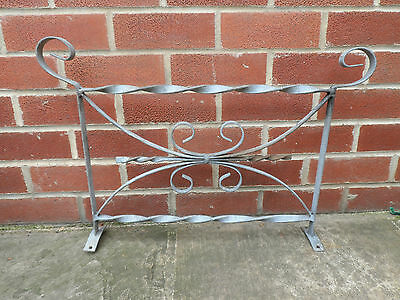 Wrought Iron Railings 10 Panels Sections Galvanised