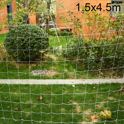 Garden Plant Support Mesh Trellis Netting 5x15ft/5x30ft Grow Net Polyester White