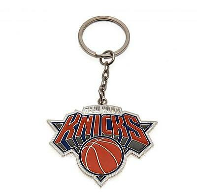 Official Licensed NBA Product New York Knicks Keyring Metal Crest Brand New