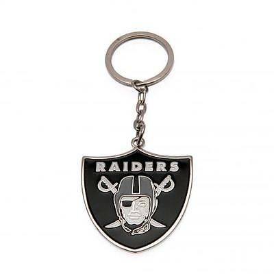 Official Licensed NFL Product Oakland Raiders Keyring Key Ring Chain Gift Fan