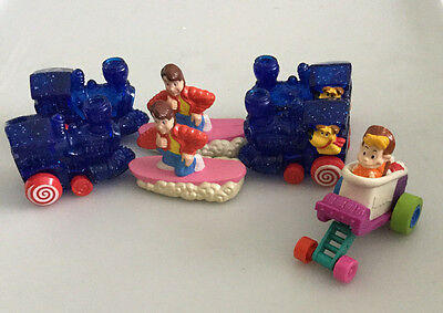 Seven McDonalds 1991 Back to the Future Happy Meal Toys Loose