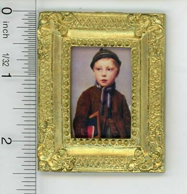 Dollhouse Miniature 1:12 Victorian Young School Boy Carrying Books