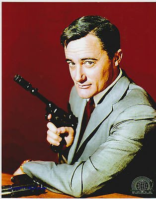 Man From Uncle Robert Vaughn As Napoleon Solo Great 8X10