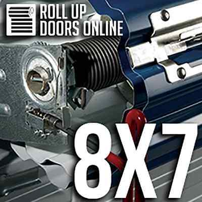 DBCI Roll Up Door Model 650 8ft wide by 7ft high with Hardware.