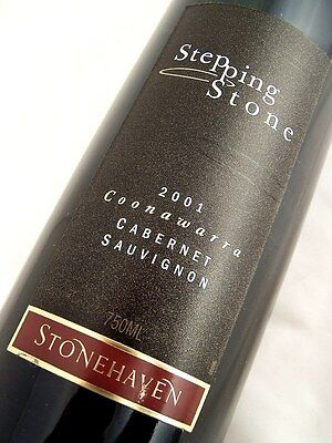 2001 STONEHAVEN Winery Stepping Stone Cabernet Isle of Wine • AUD 38.95