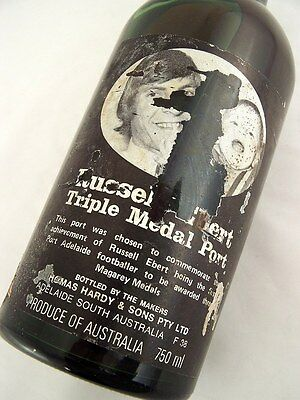 1976 circa NV HARDYS Russel Ebert Triple Medal Port Damaged Isle of Wine