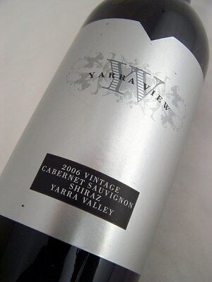 2006 YARRA VIEW Cabernet Shiraz Isle of Wine