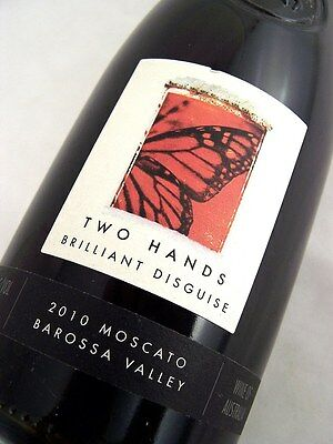 2010 TWO HANDS Brilliant Disguise Moscato Muscat Blanc 500ml Isle of Wine