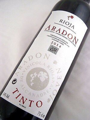 2014 ARADON Rioja Tempranillo Isle of Wine